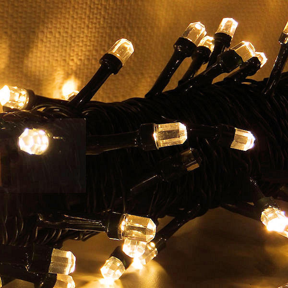 Clusterverlichting 30 meter, kerstverlichting (300 LEDs, Timer, Dimmer, Binnen/Buiten)