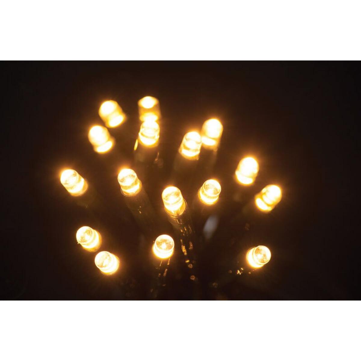 Clusterverlichting 20 meter, LED kerstverlichting (200 LEDs, Timer, Dimmer, Binnen/Buiten)
