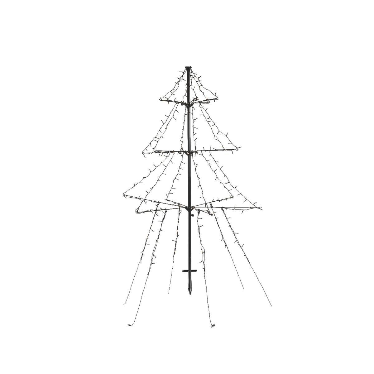 LED kerstboom met timer