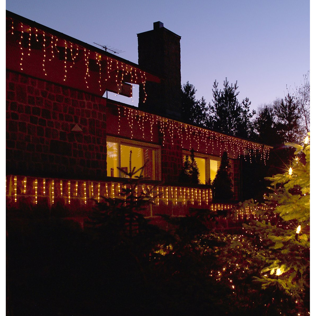 LED icicle lichtsnoer 20 meter