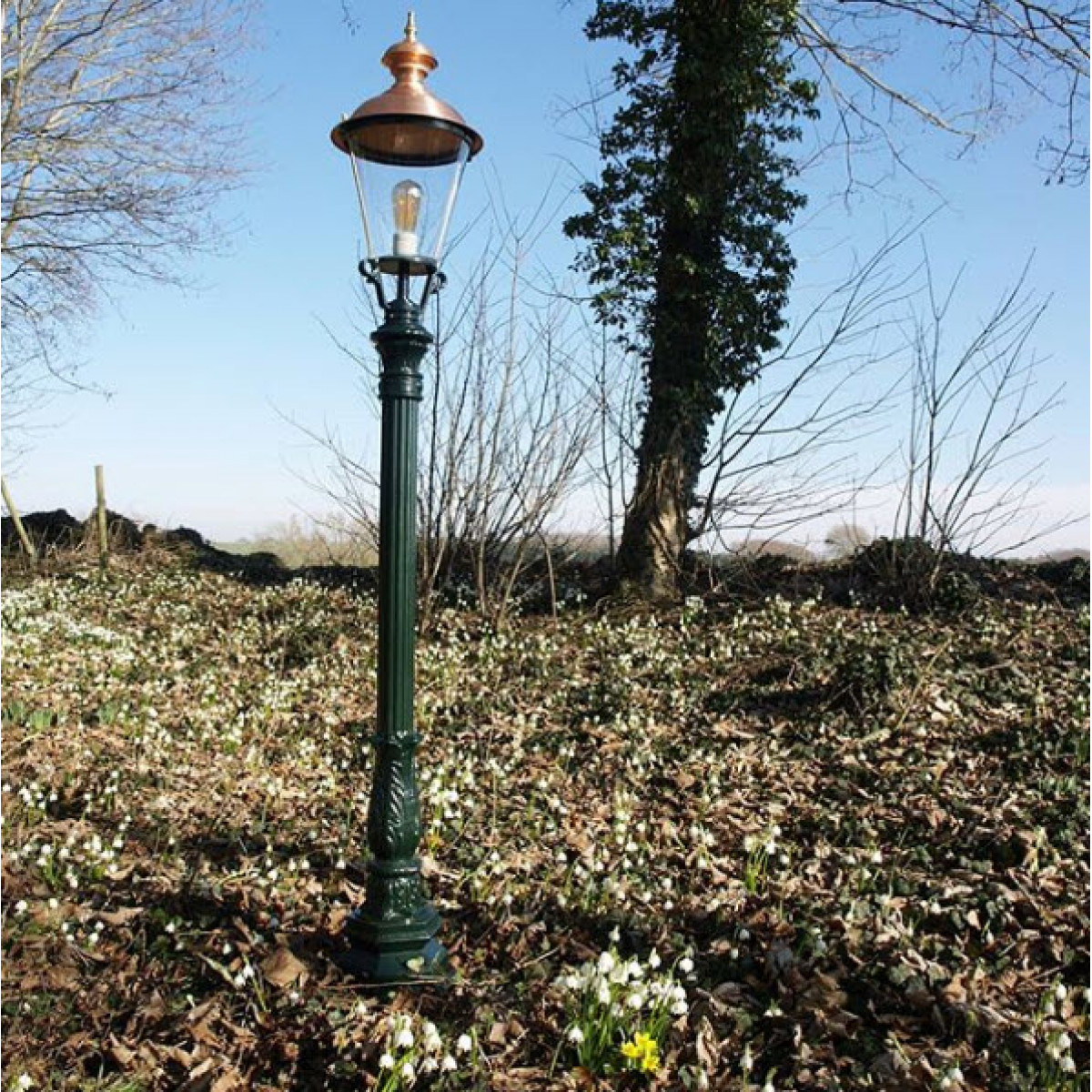 Buitenverlichting Tuinlamp Winterberg rond