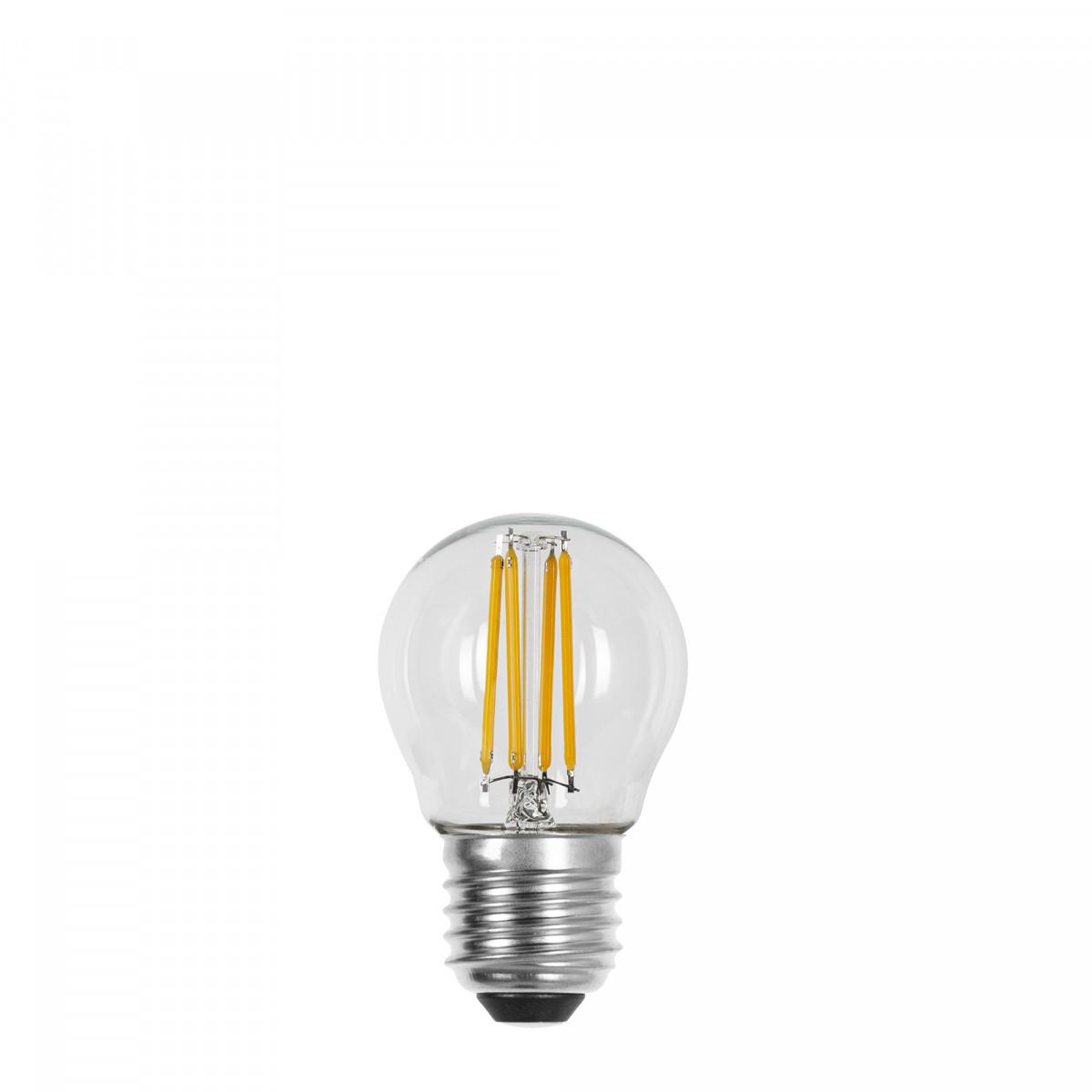 Mini Gold Ledlamp E27