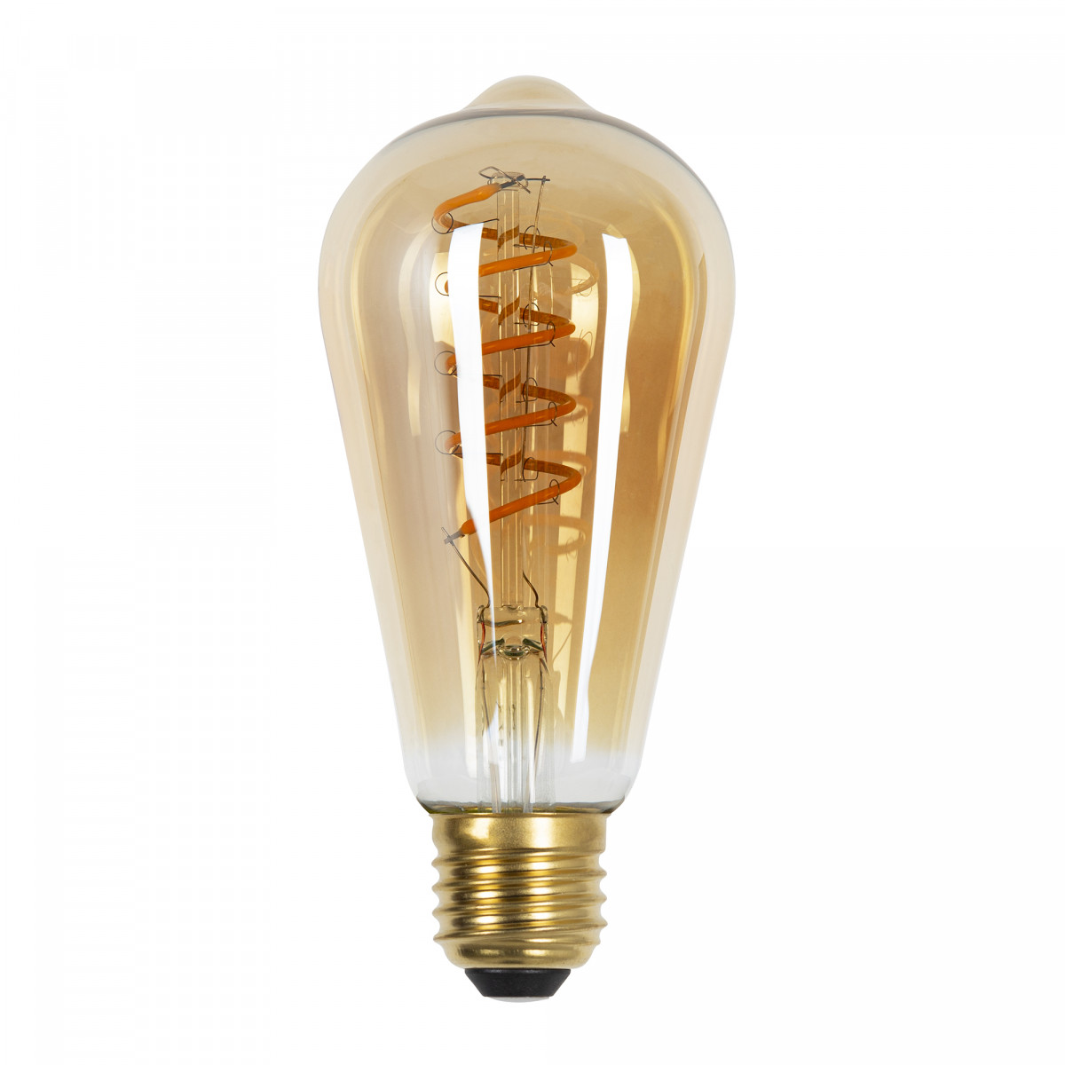 6-pack ledlamp Rustic Spiral - 4 Watt - 220 Lumen