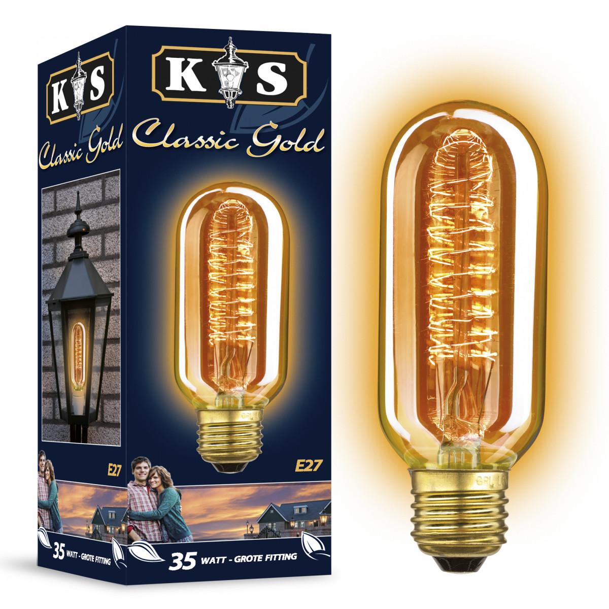 Spiral Gold 35W (5832) - KS Verlichting - Lichtbronnen