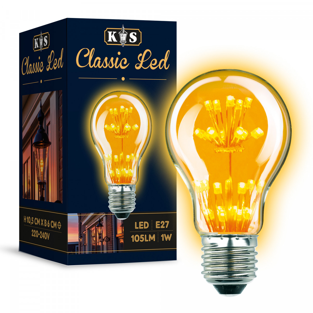 Ledlamp 5883 classic led lamp lichtbron
