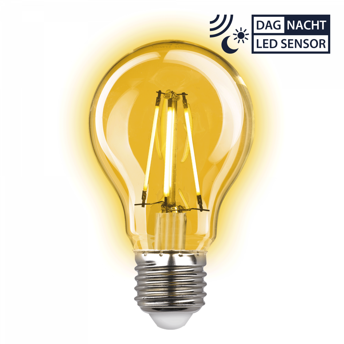 Buitenlamp Dolce Koper Dag Nacht sensor LED Schemersensor