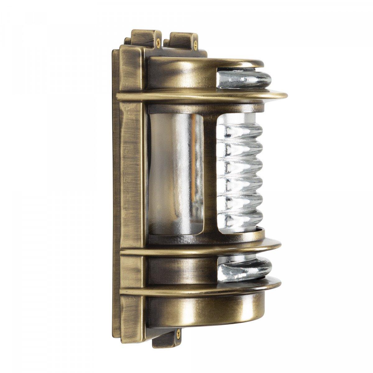Scheepslamp Ahoy - massief brons