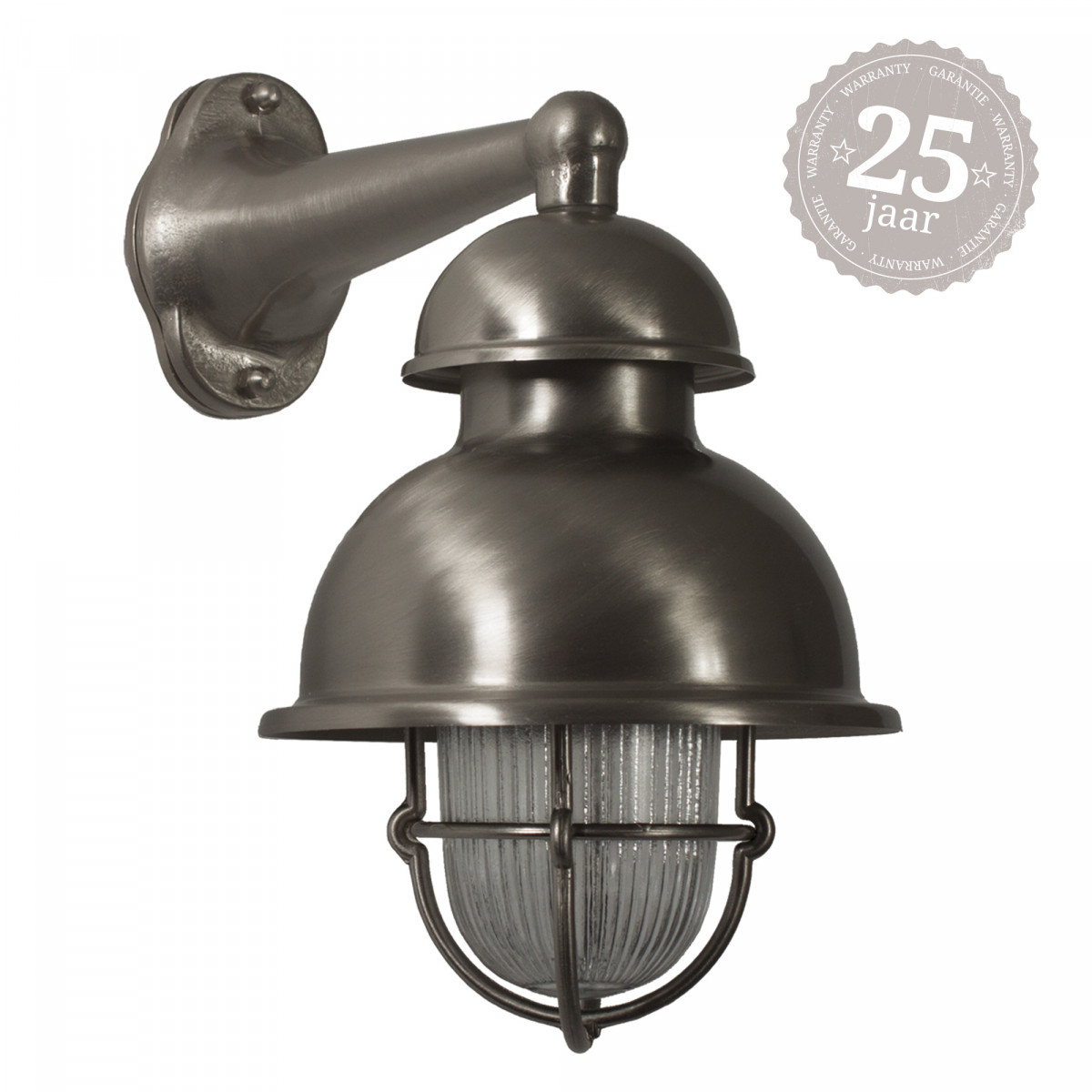 Scheepslamp antiek zilver Wharf