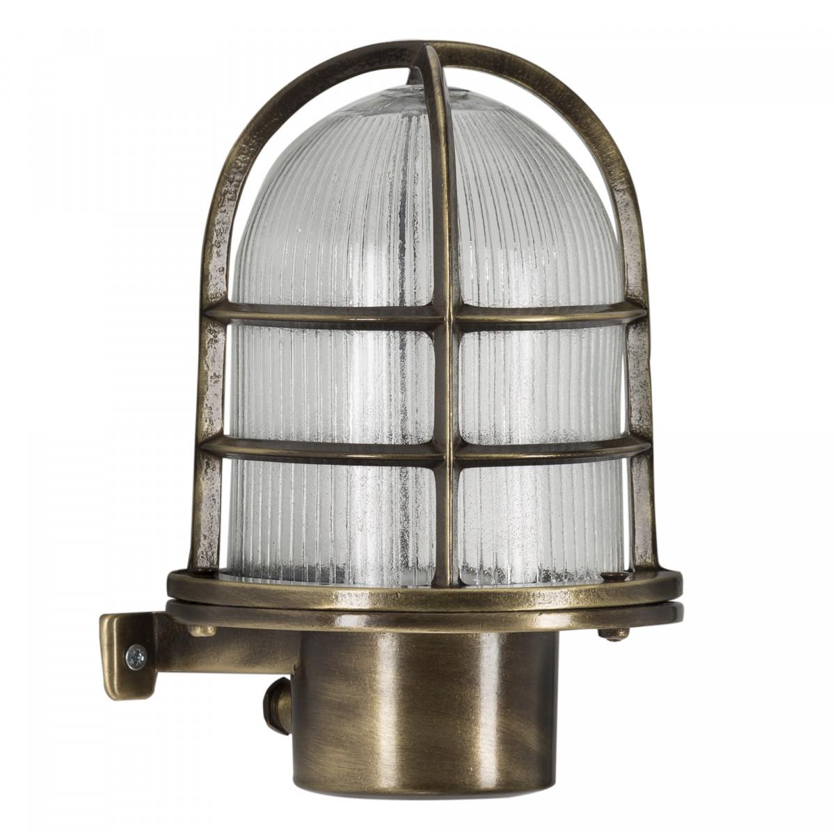 Scheepslamp Caspian messing