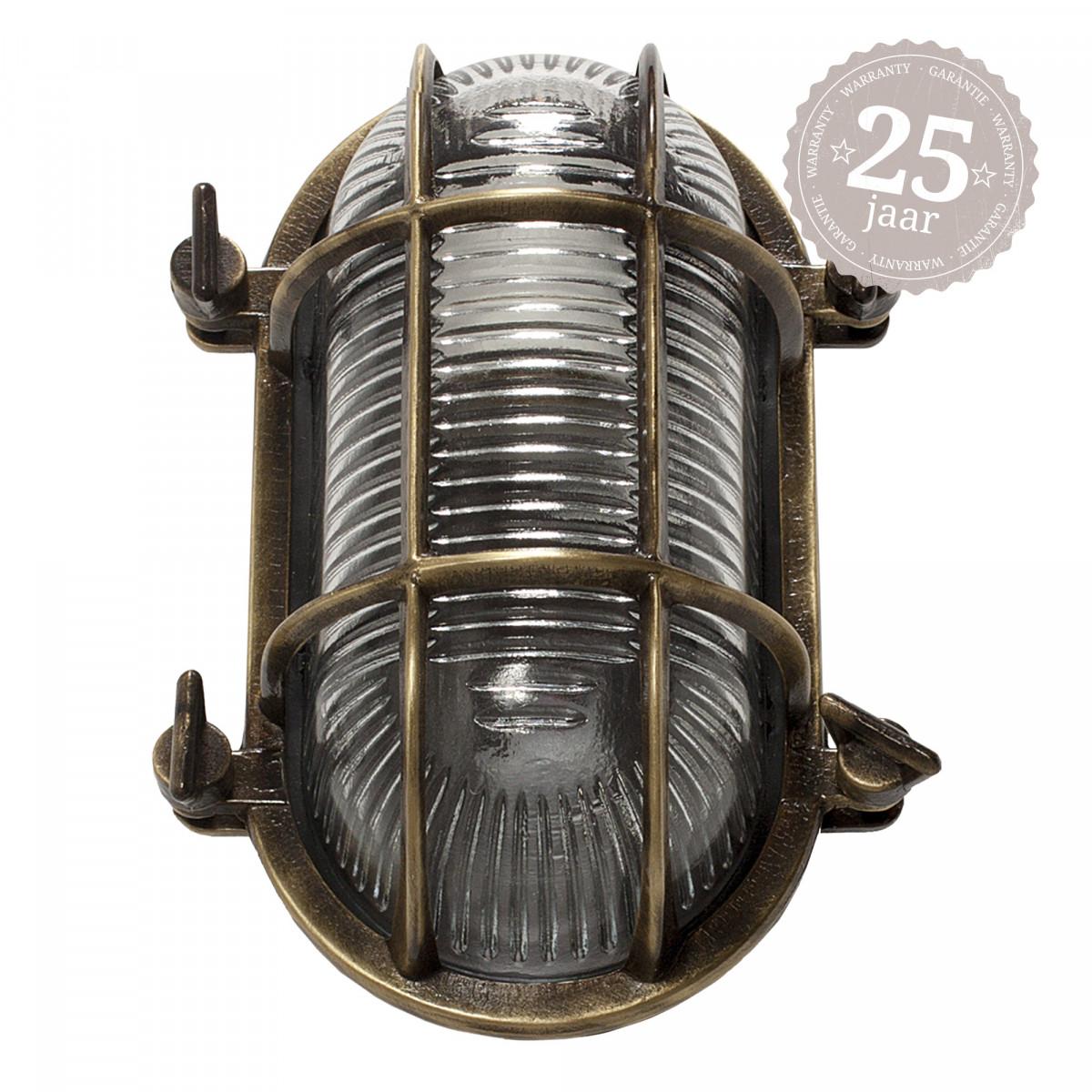 Bronzen nautische scheepslamp 3