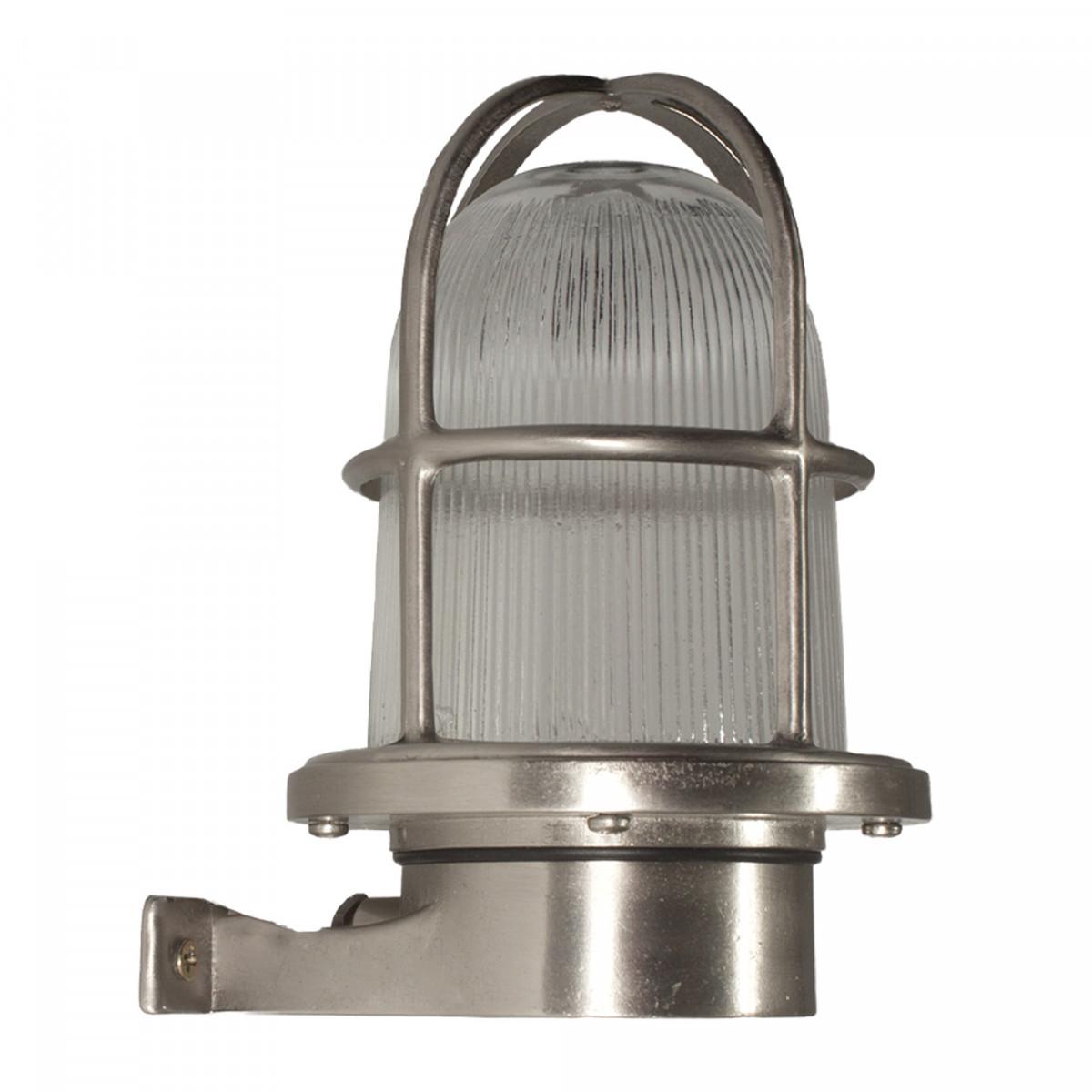 Antiek zilveren scheepslamp Nikkel