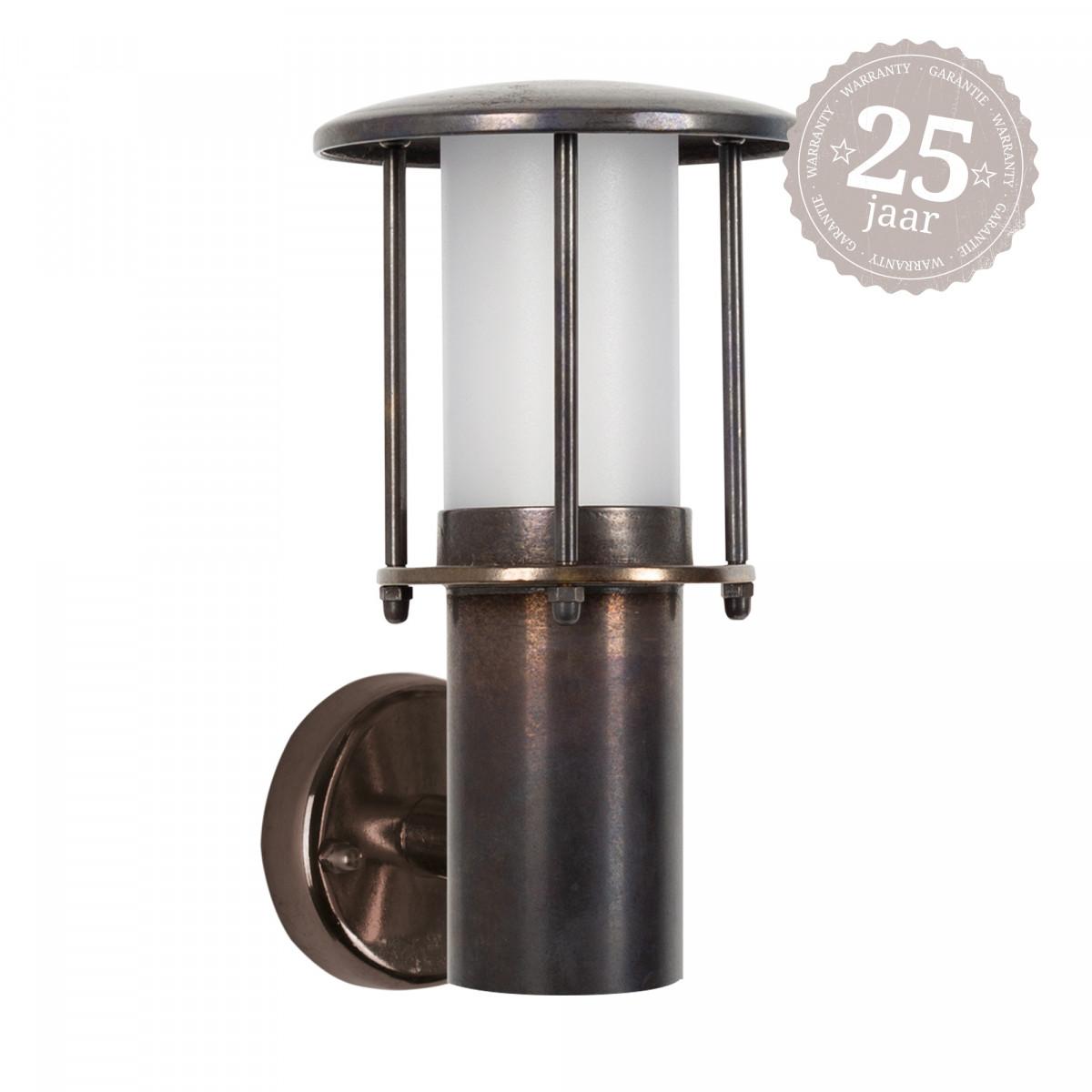 Muurlamp Resident dark brass