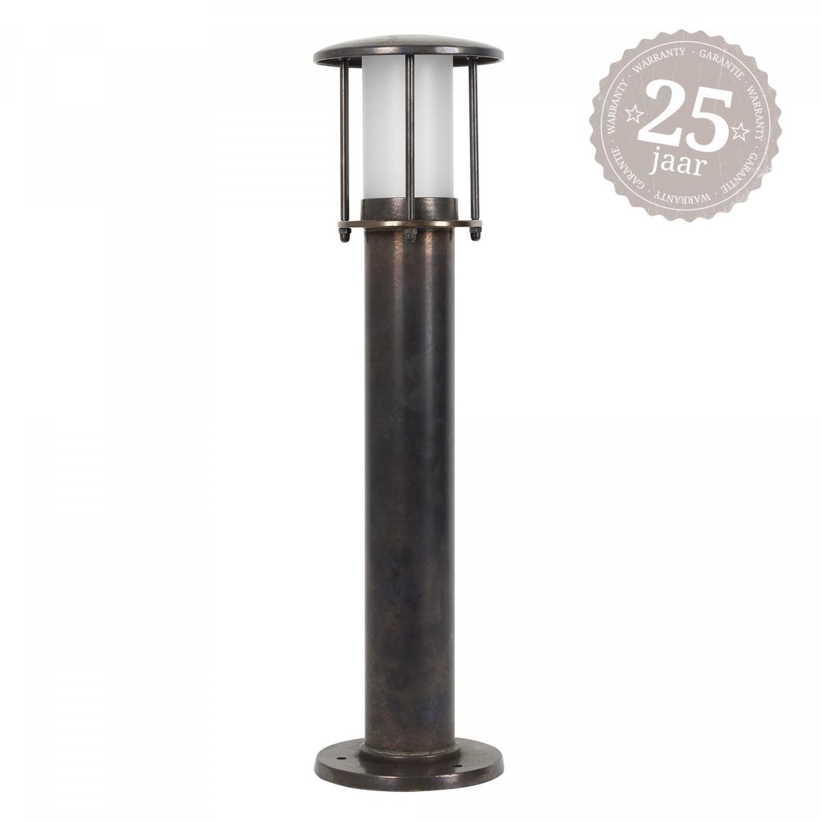 Resident 2 sokkellamp dark brass