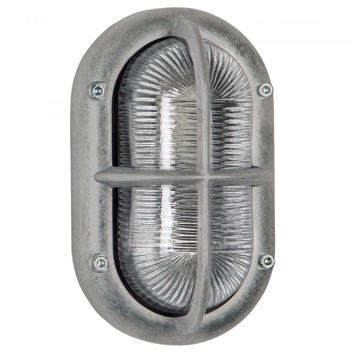 Stoere buitenlamp Oculus ruw aluminium