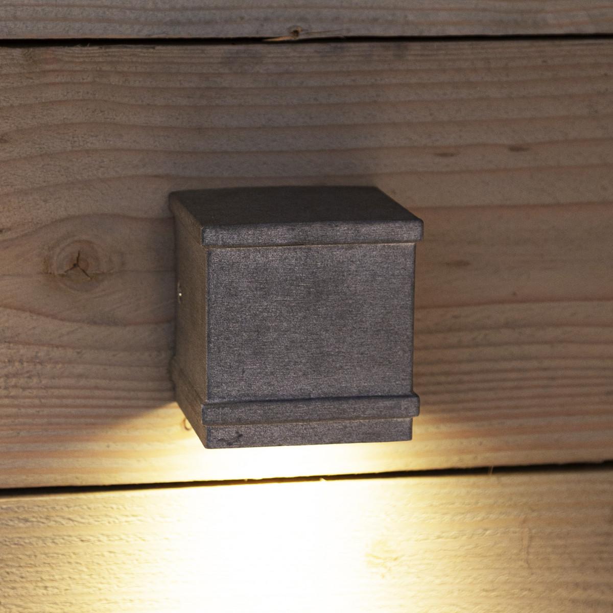 Borgo wandspot ruw aluminium (6687) - KS Verlichting