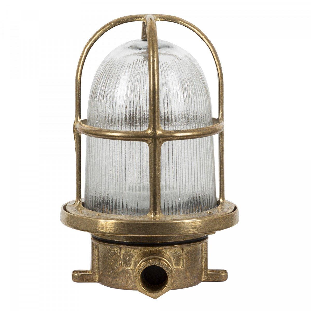 Scheepslamp Caspian brons