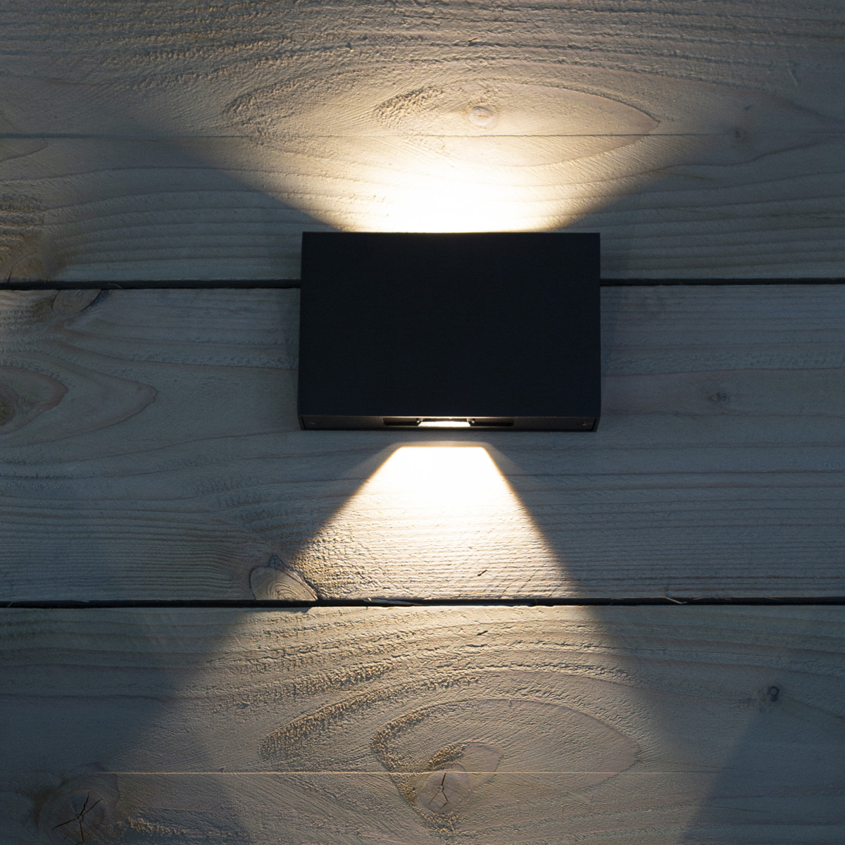 Flatliner wandlamp zwart
