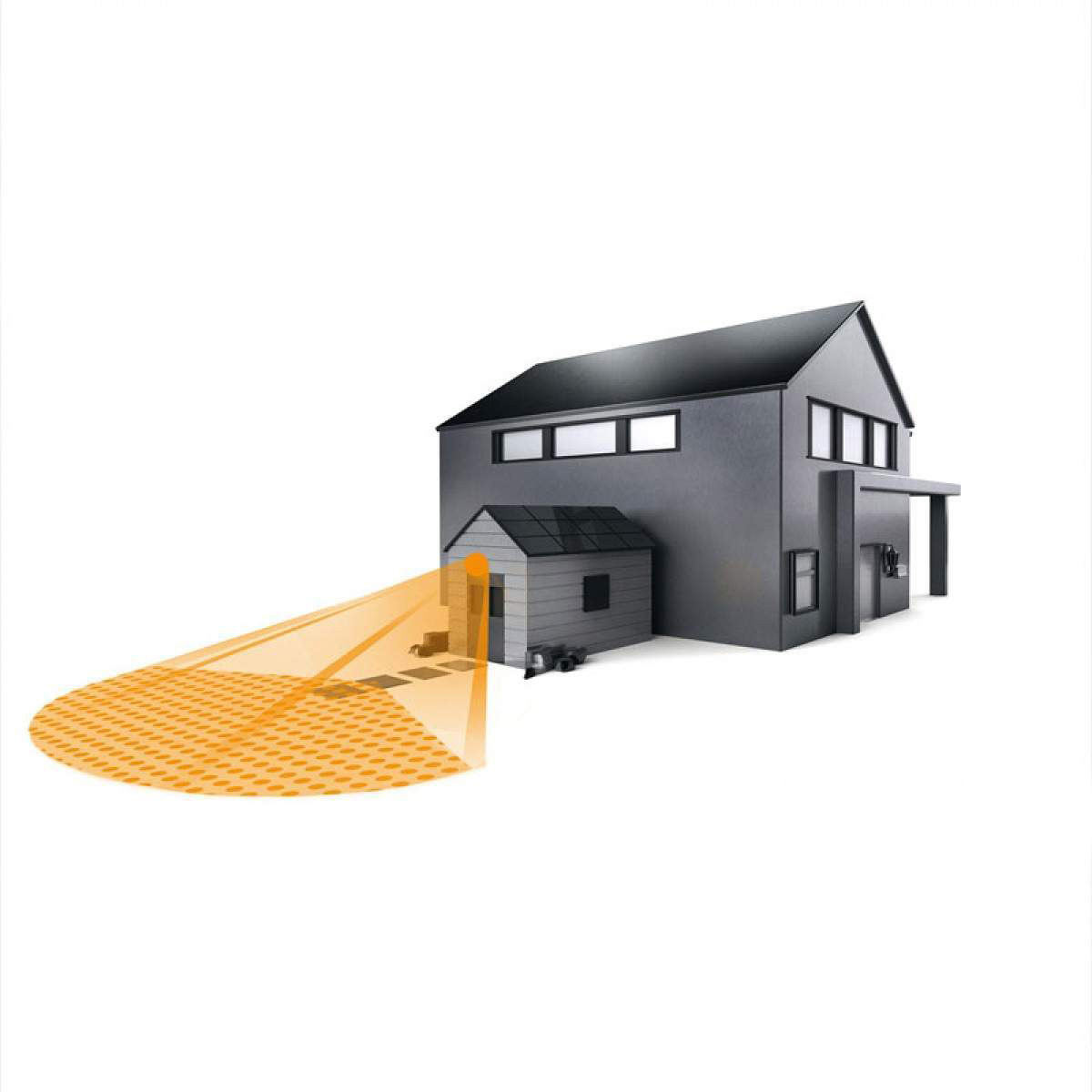 losse sensor buitenlamp - Steinel IS 1 bewegingsmelder zwart (600419) - Steinel - Losse Sensoren en Bewegingsmelders