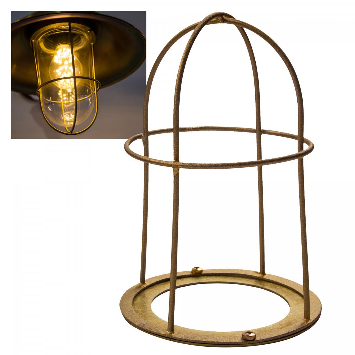 Messing raster voor stallamp -  accessoires en onderdelen