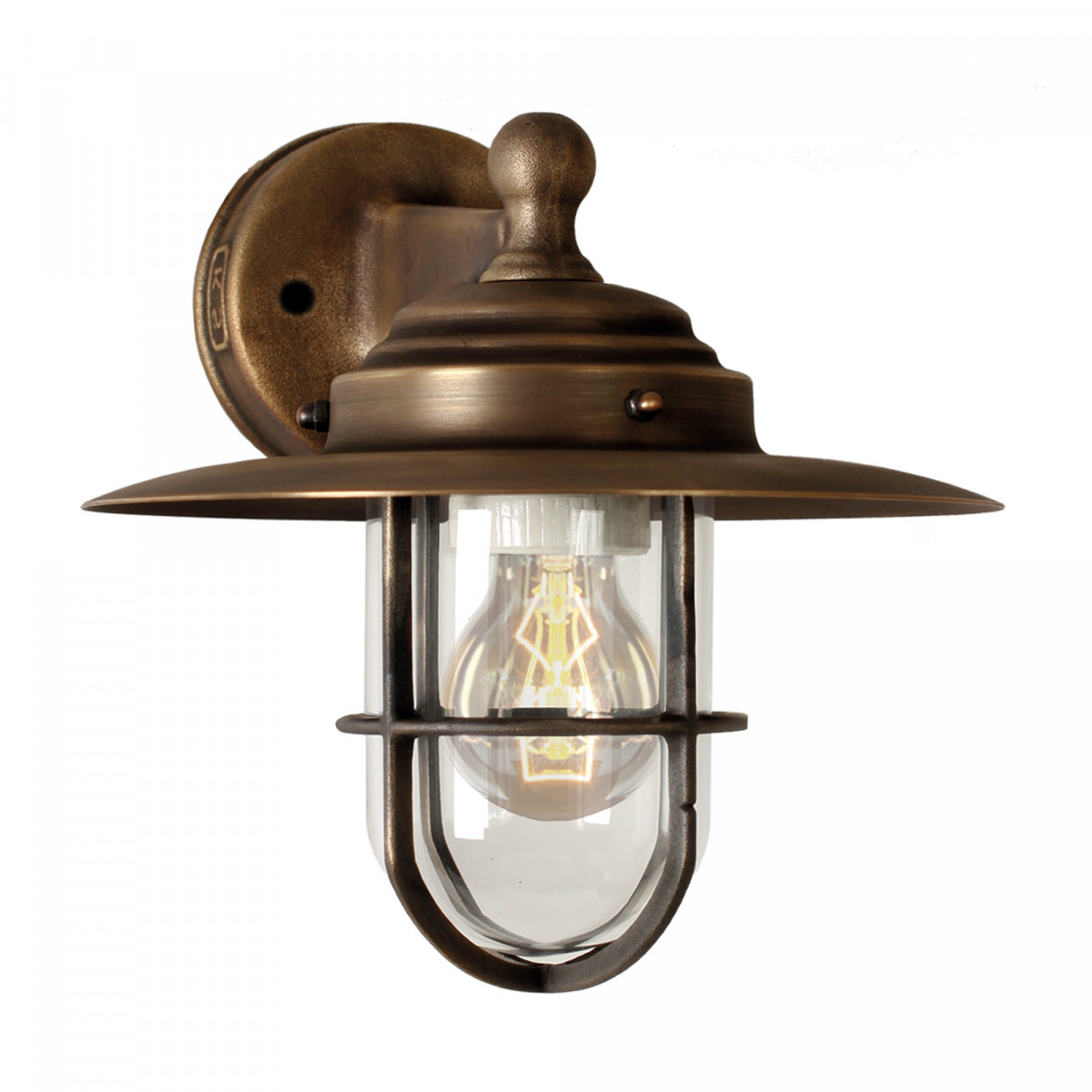 Labenne (1181) - KS Verlichting - Buitenverlichting hanglamp brons-koper