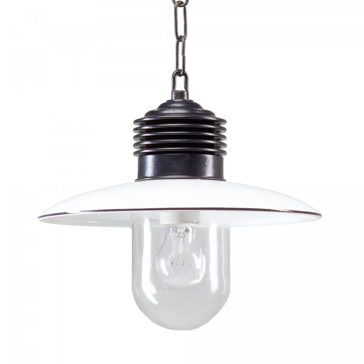 Hanglamp Ampere ketting Zwart/Wit (1187) - KS Verlichting - Stoer & Industrieel