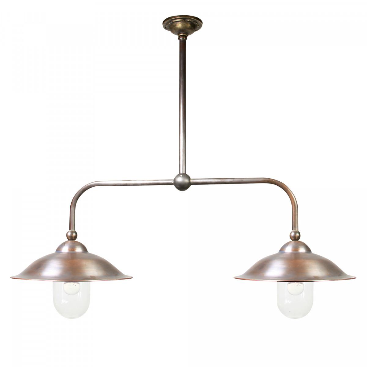 Stallamp Vienna Plafond 2 Lichts (1251) - KS Verlichting - Lampen aan Ketting