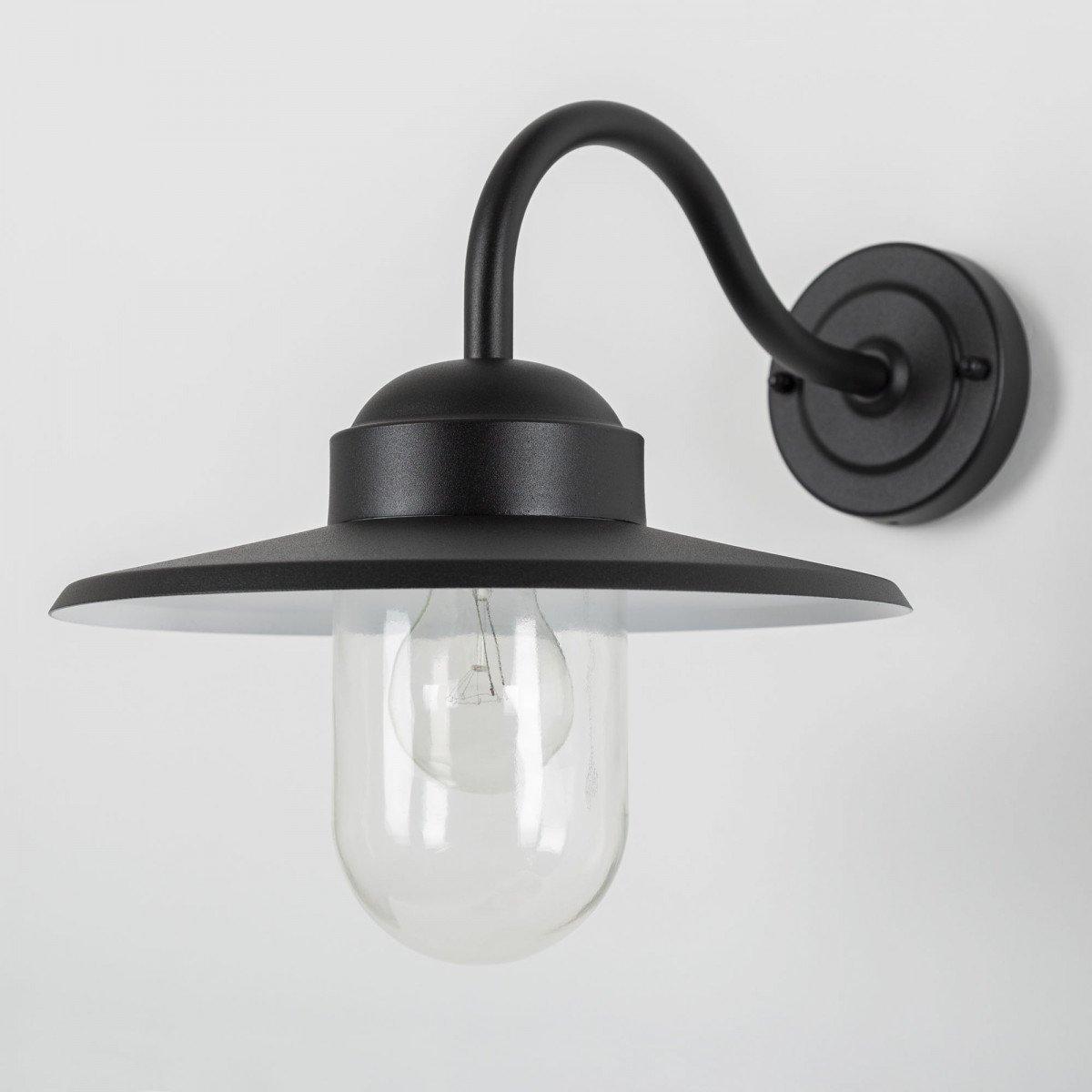 Dolce Retro Zwart Dag Nacht Sensor LED