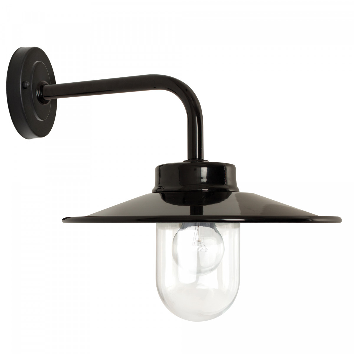 Wandlamp Vita Zwart