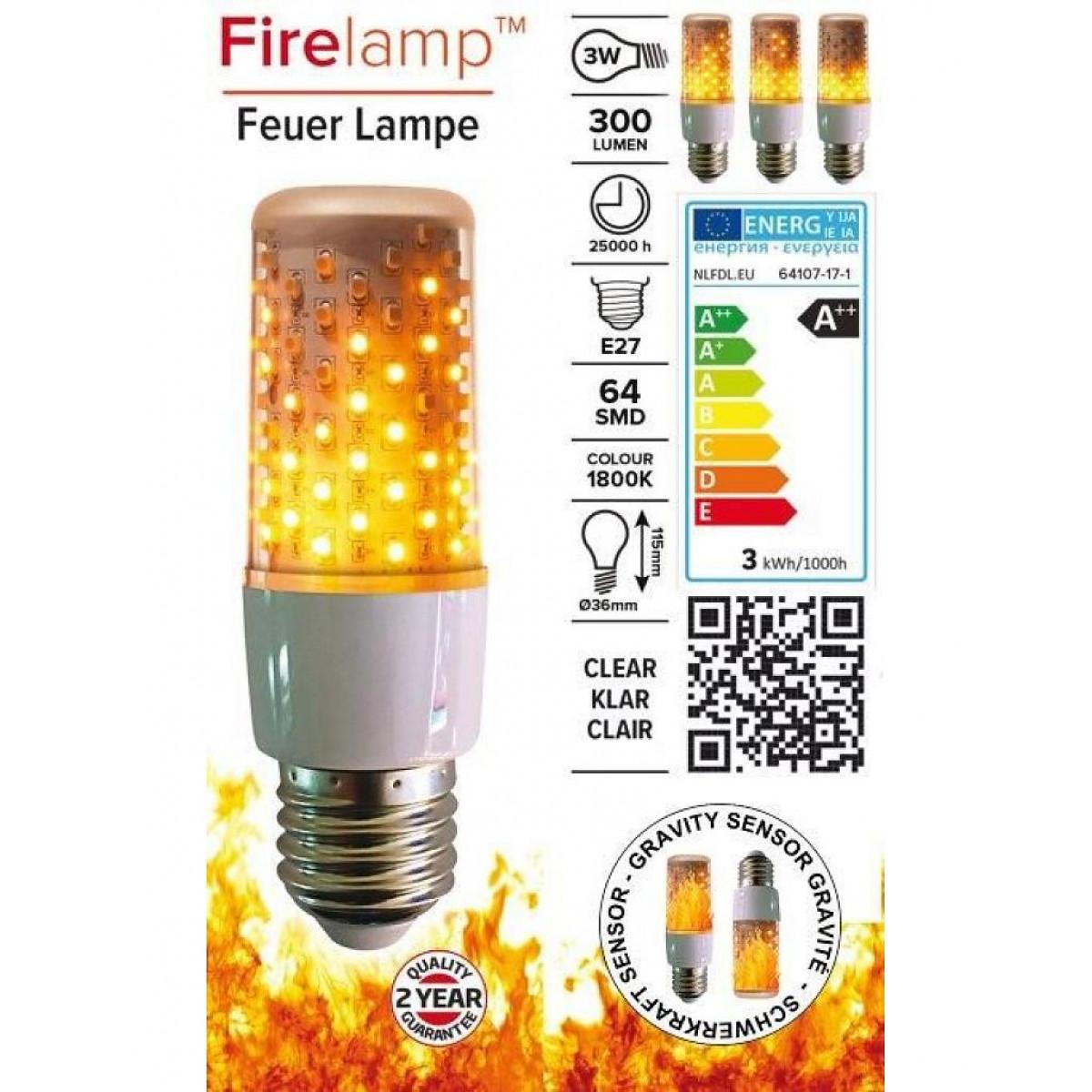 LED kaarslichtbron klein