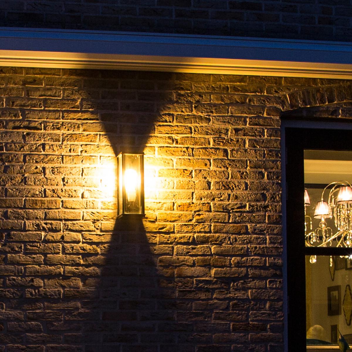 Langwerpige Wandlamp Capital