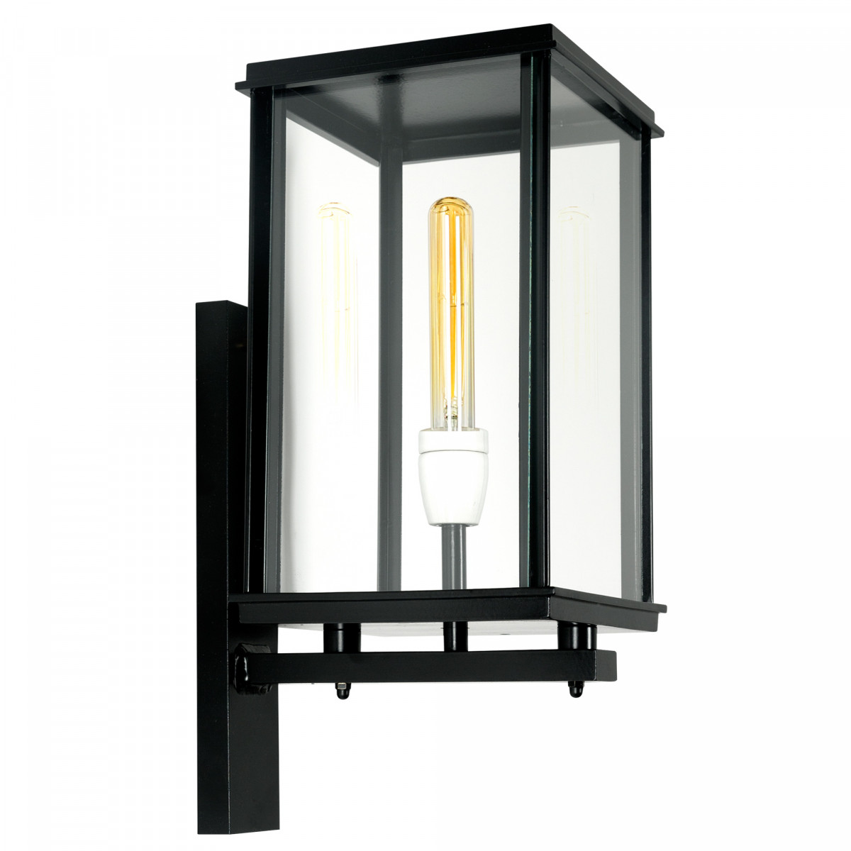 Vierkante buitenlamp Capital staand XL