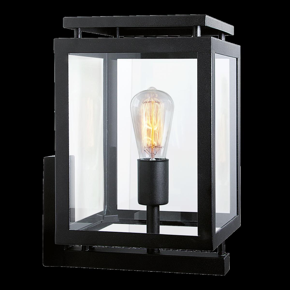 KS Verlichting De Vecht - Populaire moderne strak klassieke buitenverlichting - RVS Buitenlamp Zwart
