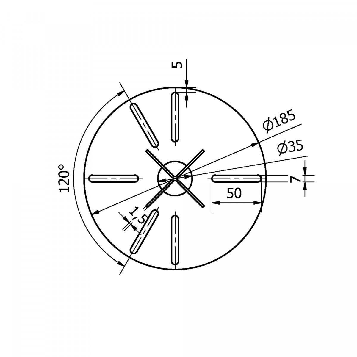 Spie mini (5829) - KS Verlichting - Montage en verankering