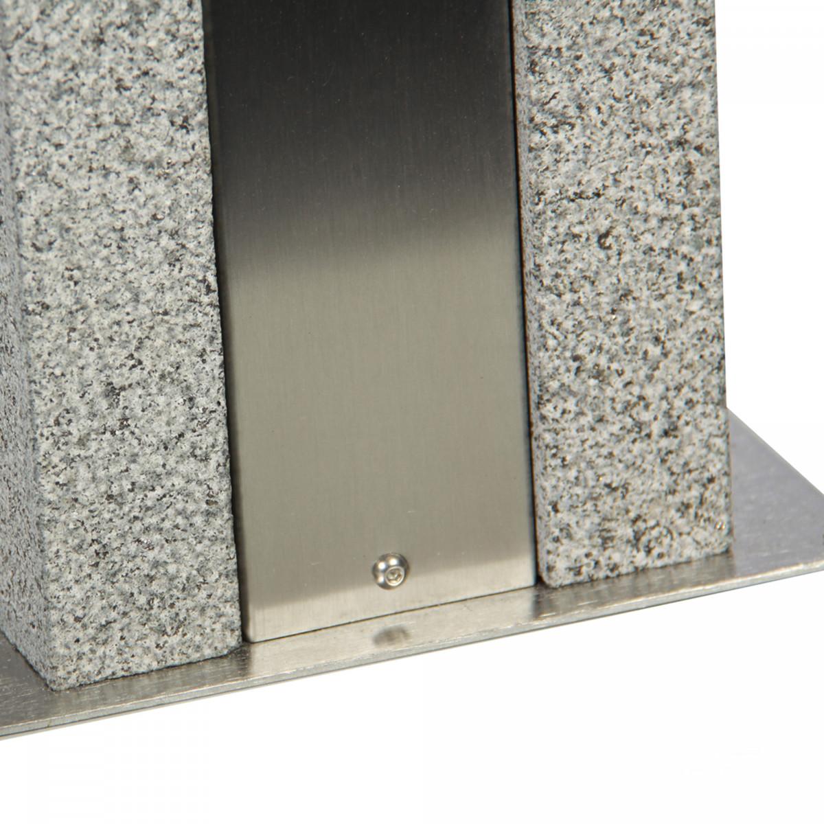 Groeve graniet Tuinlamp (7383) - KS Verlichting - Design & Exclusief