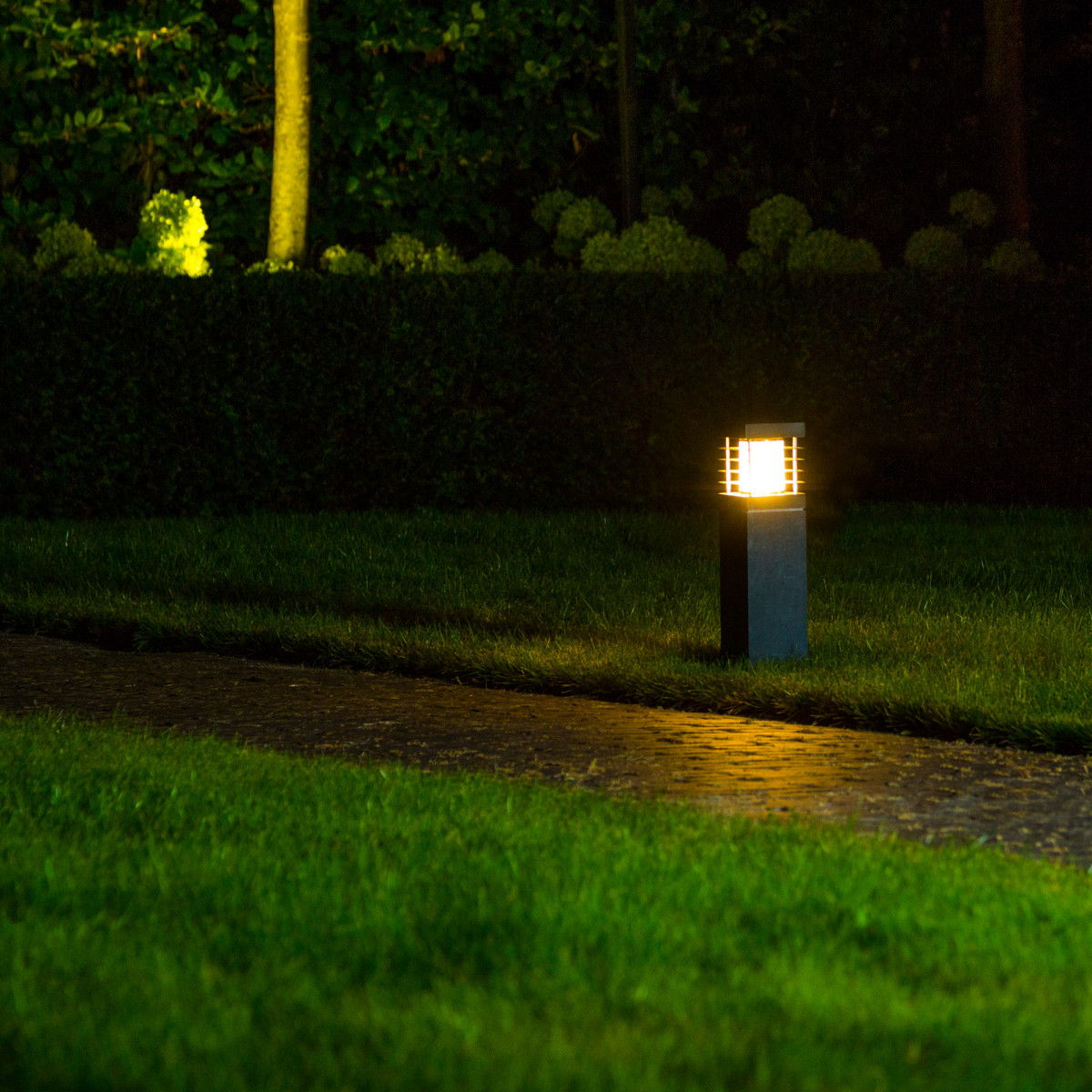 Pilar Hardsteen S Tuinlamp