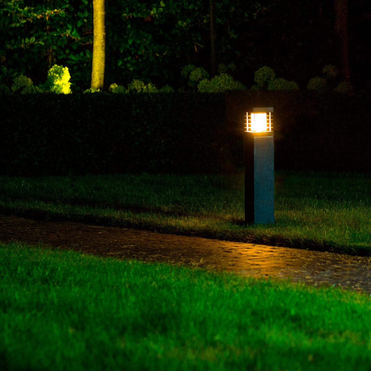 Pilar Hardsteen L Tuinlamp