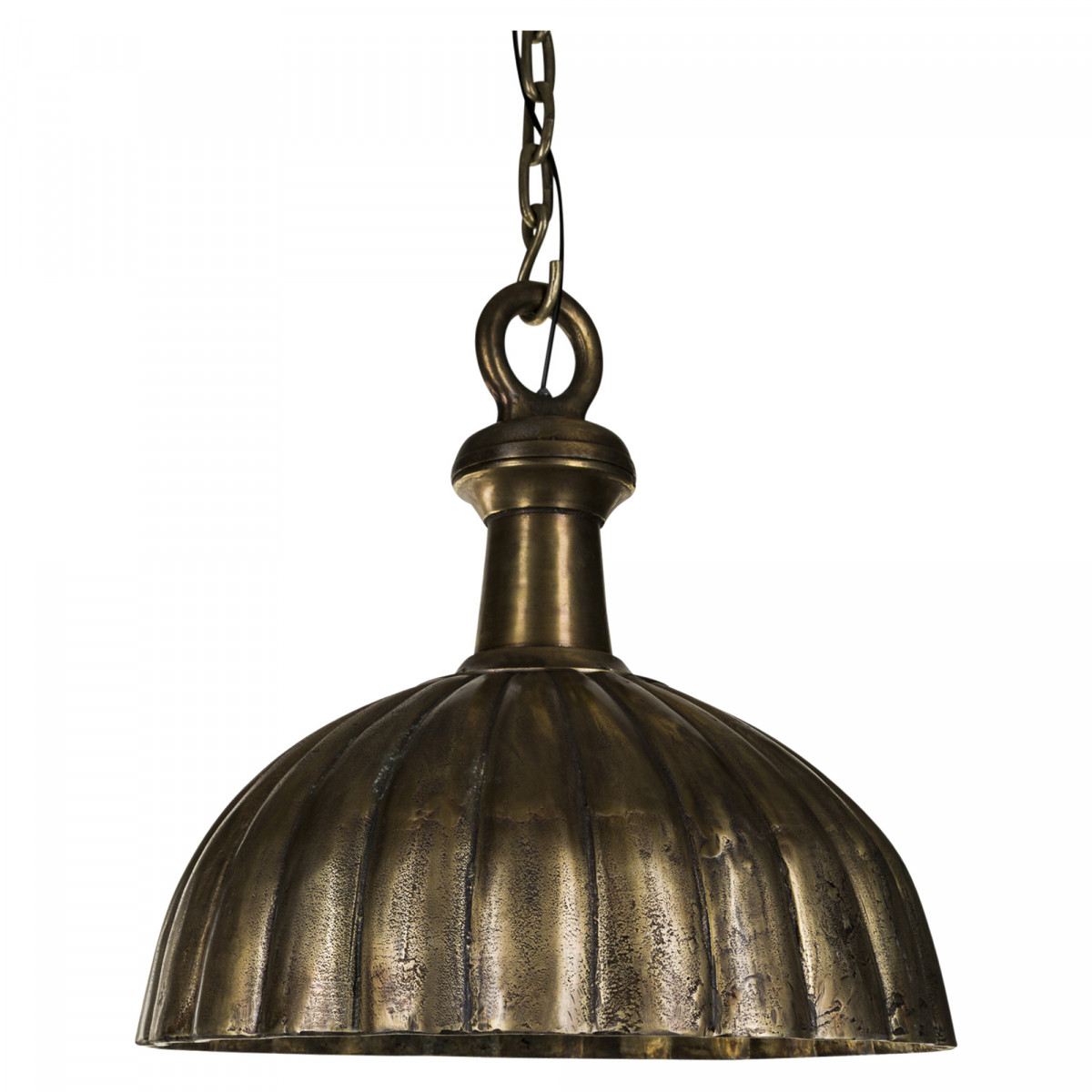 PTMD aluminium brass lamp hanging curved M