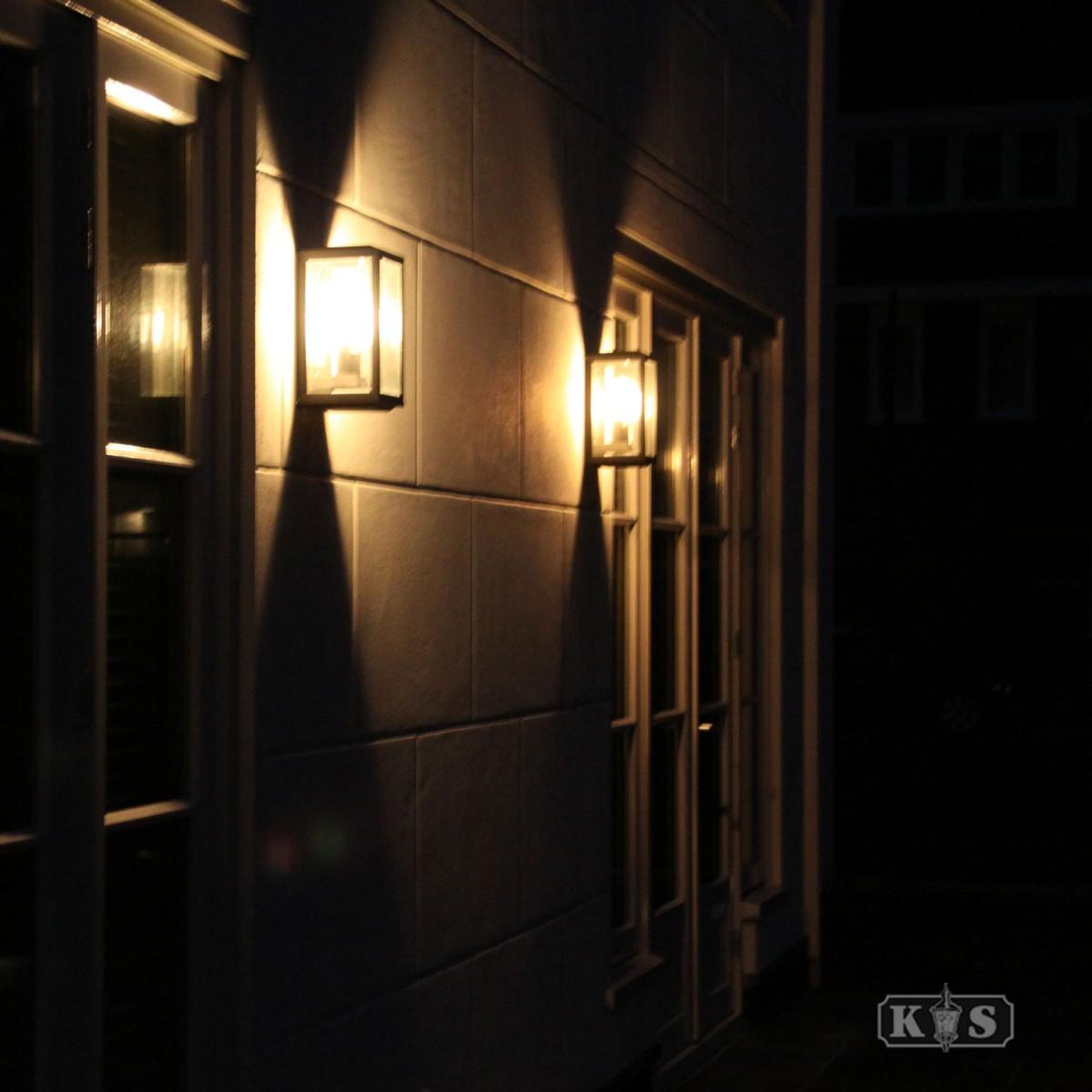 Langwerpige Wandlamp Groot