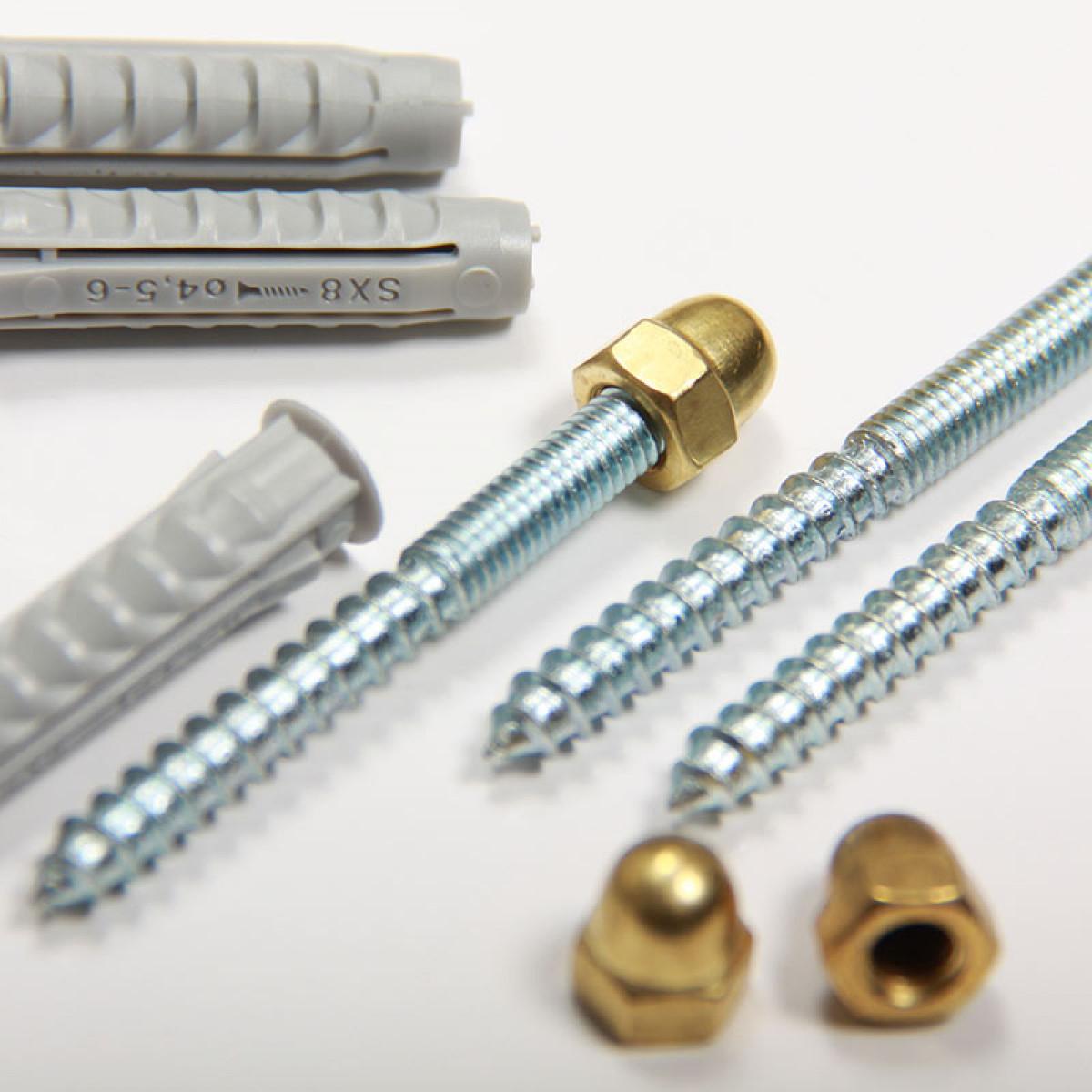 Zonnewijzer sokkel montage set (3837) -  Losse onderdelen
