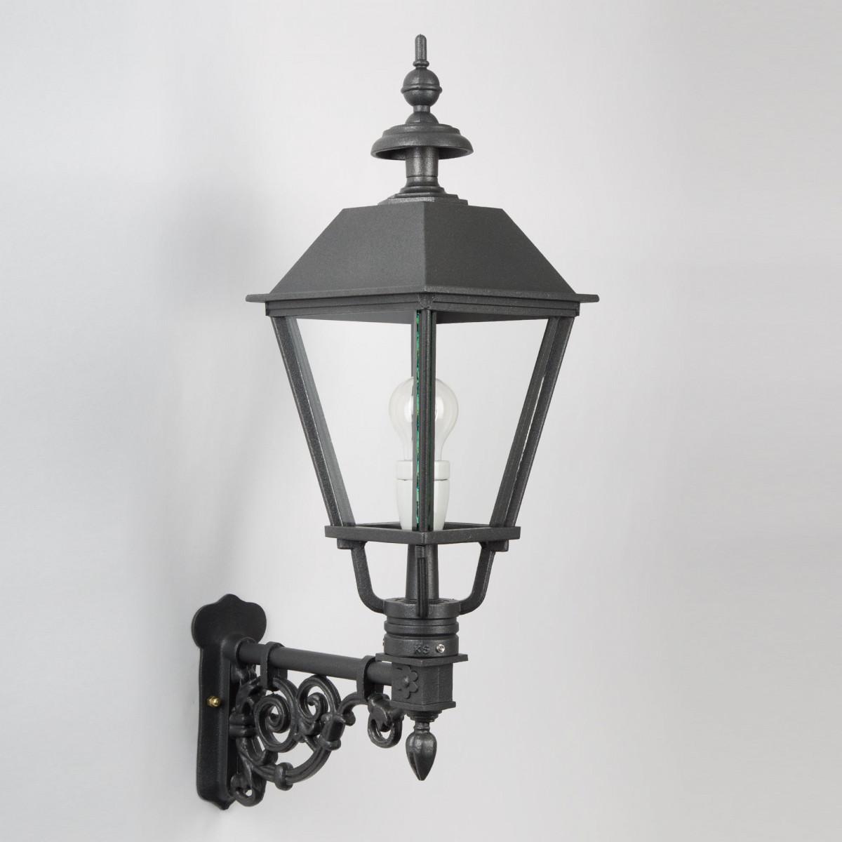 klassieke buitenverlichting - stijlvolle landelijke vierkante buitenlamp KS Zandvoort M - Nostalux