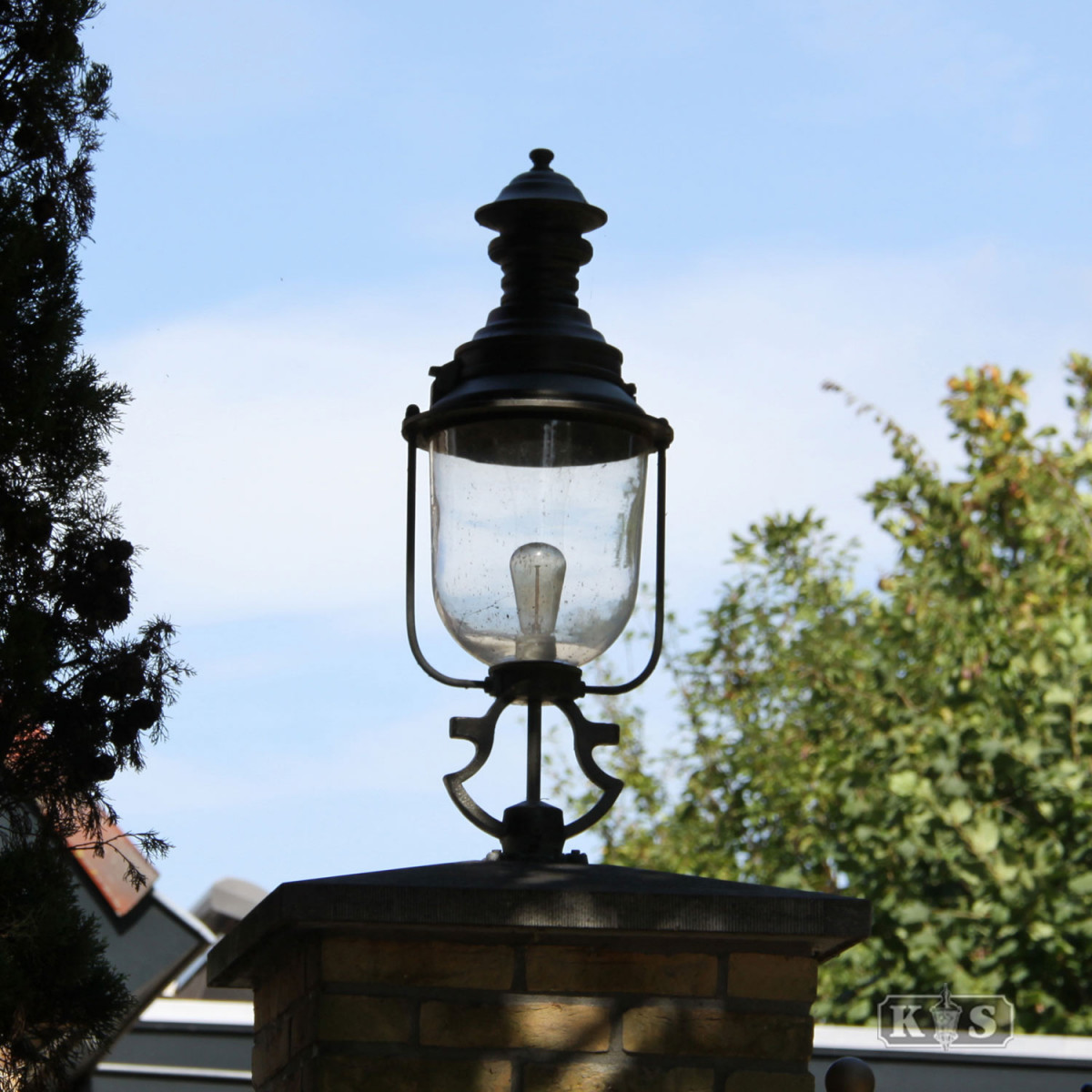 Kempten Brons (7239) - KS Verlichting - Buitenverlichting Brons Koper
