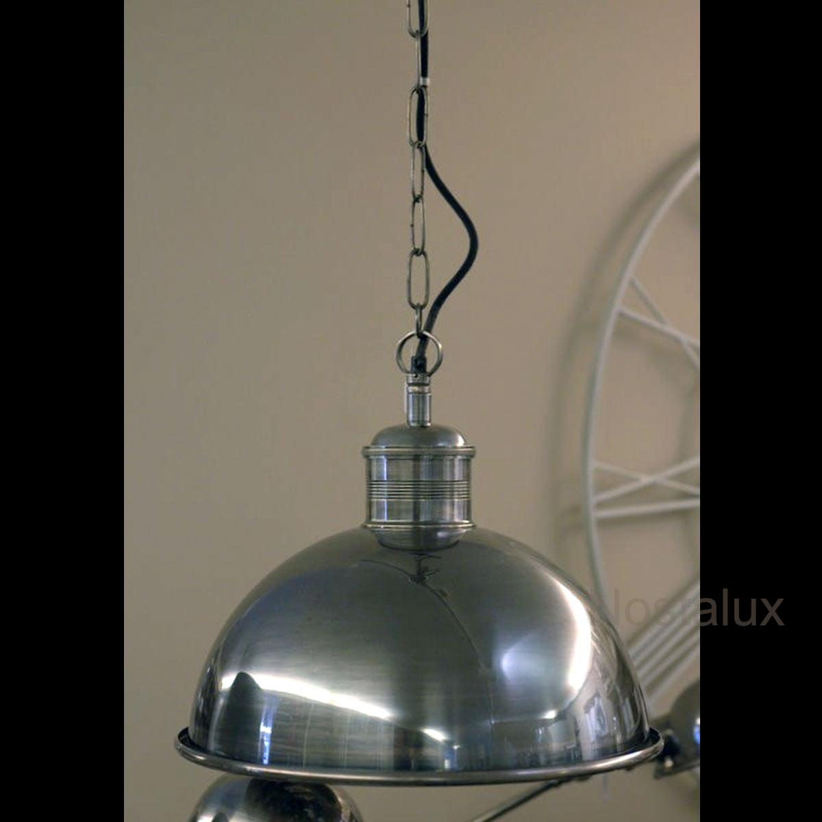 Industriele vintage Everest Hanglamp
