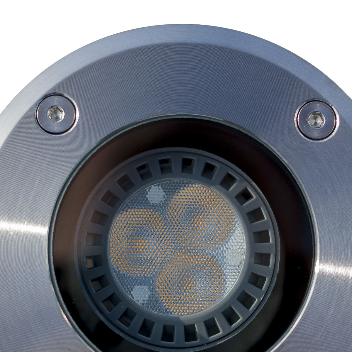 RVS Grondspot LED Rond