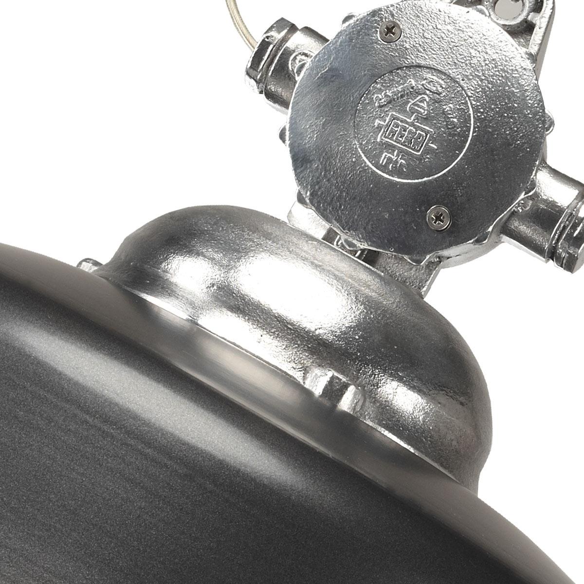 Hanglamp Detroit Retro & Vintage Industrie Antraciet
