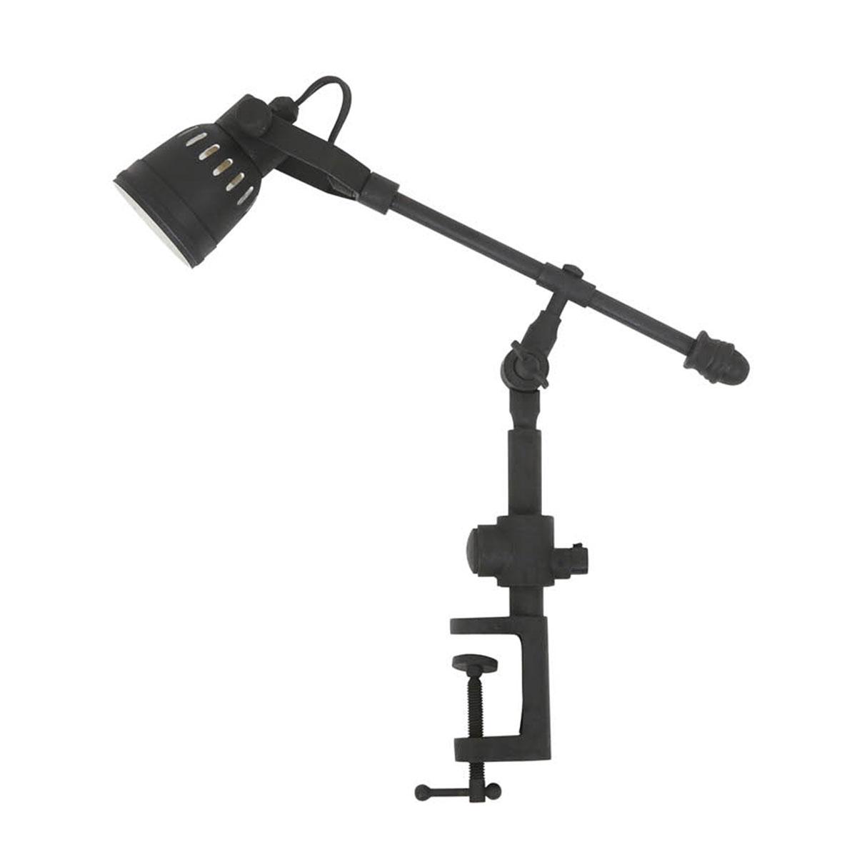 Industriele vintage tafellamp Orlando