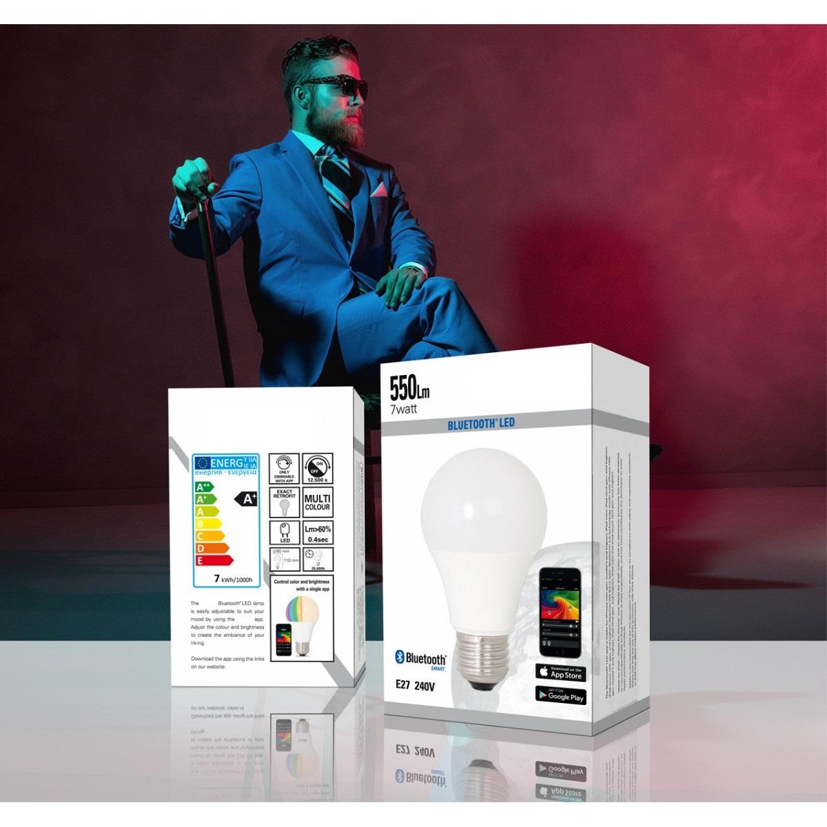 LED E27 Bluetooth (421726) - Lichtbronnen | Nostalux.nl