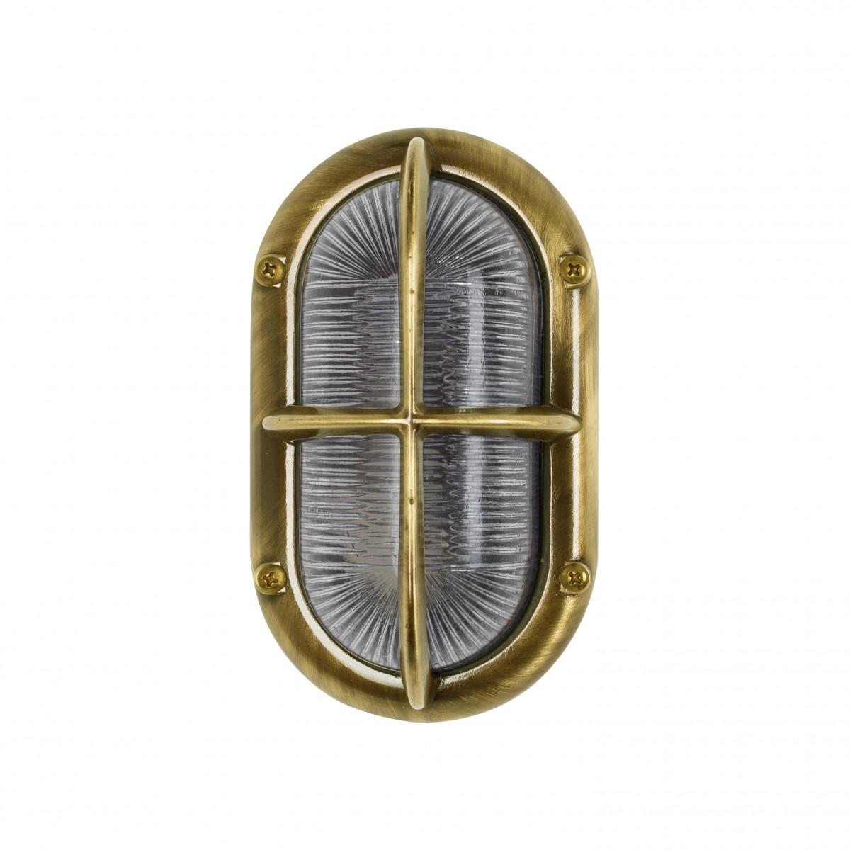 scheepsverlichting zeebestendig - Oculus Brons (6679) - KS Verlichting - Maritiem - scheepslamp - Nostalux