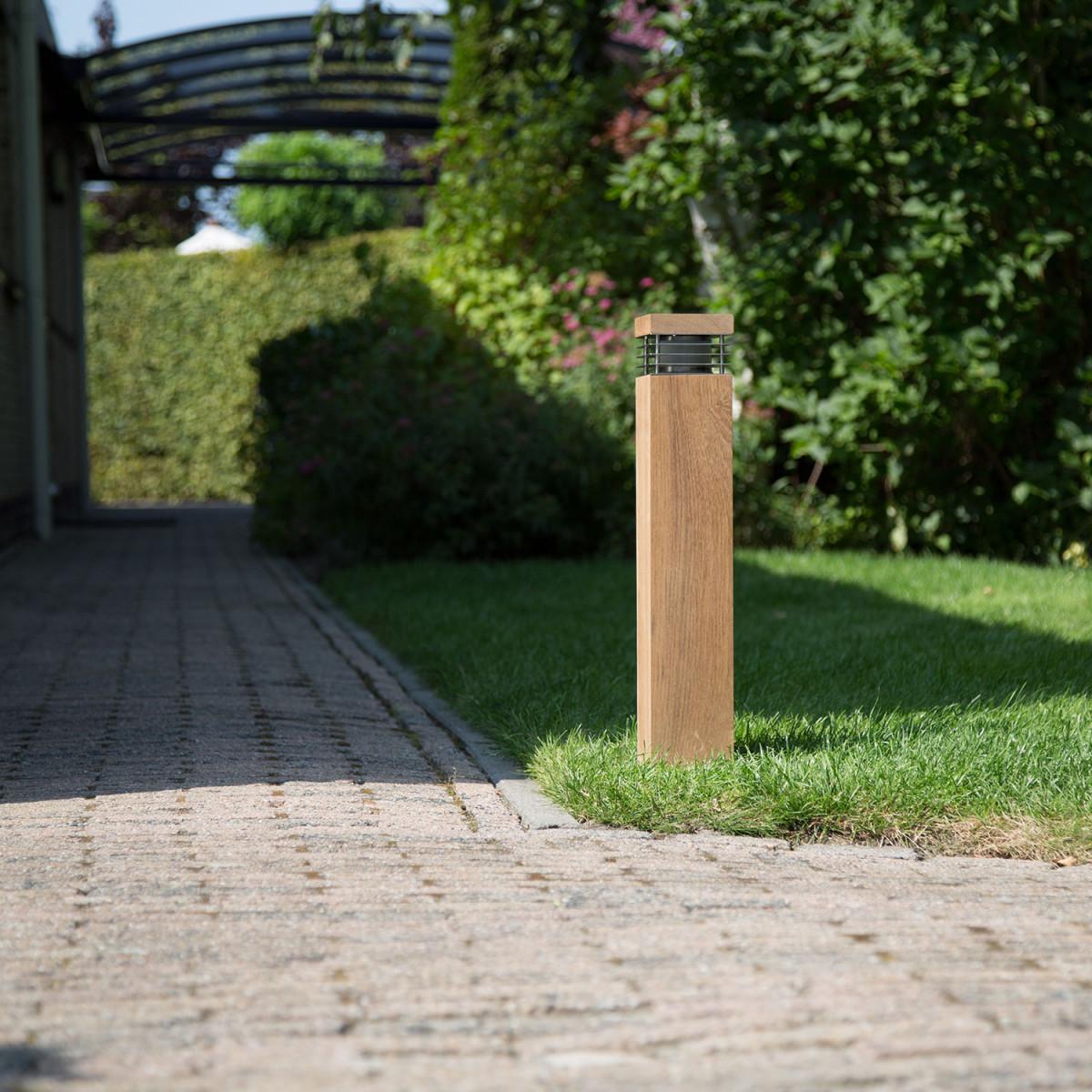 Pilar Teak Tuinlamp (7384) - KS Verlichting - Design & Exclusief