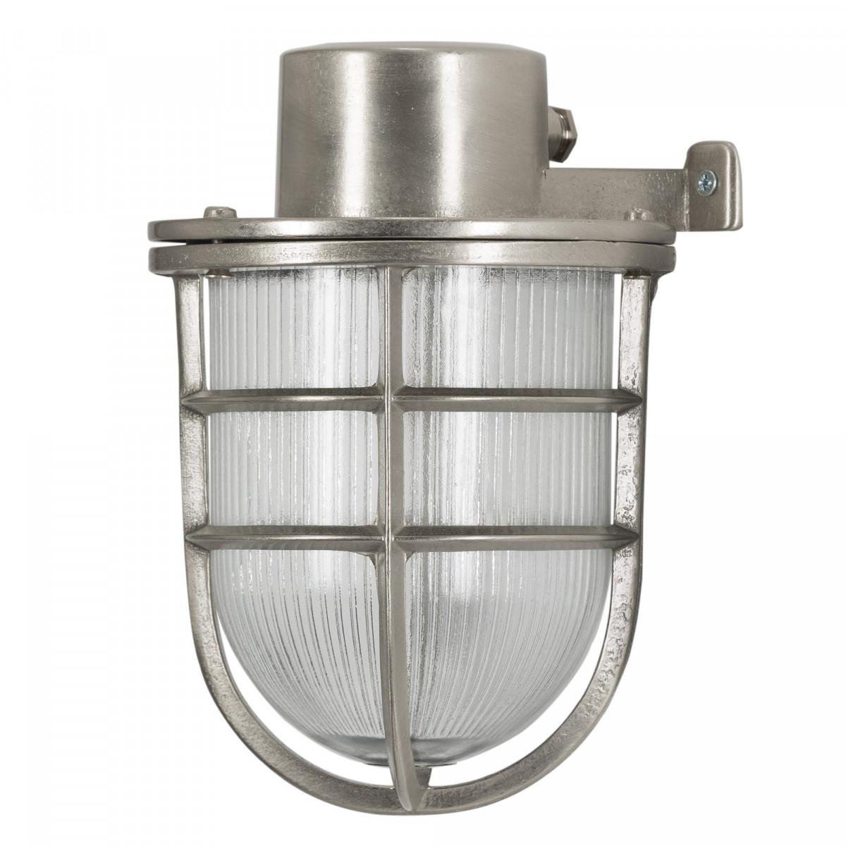 Antiek zilveren scheepslamp
