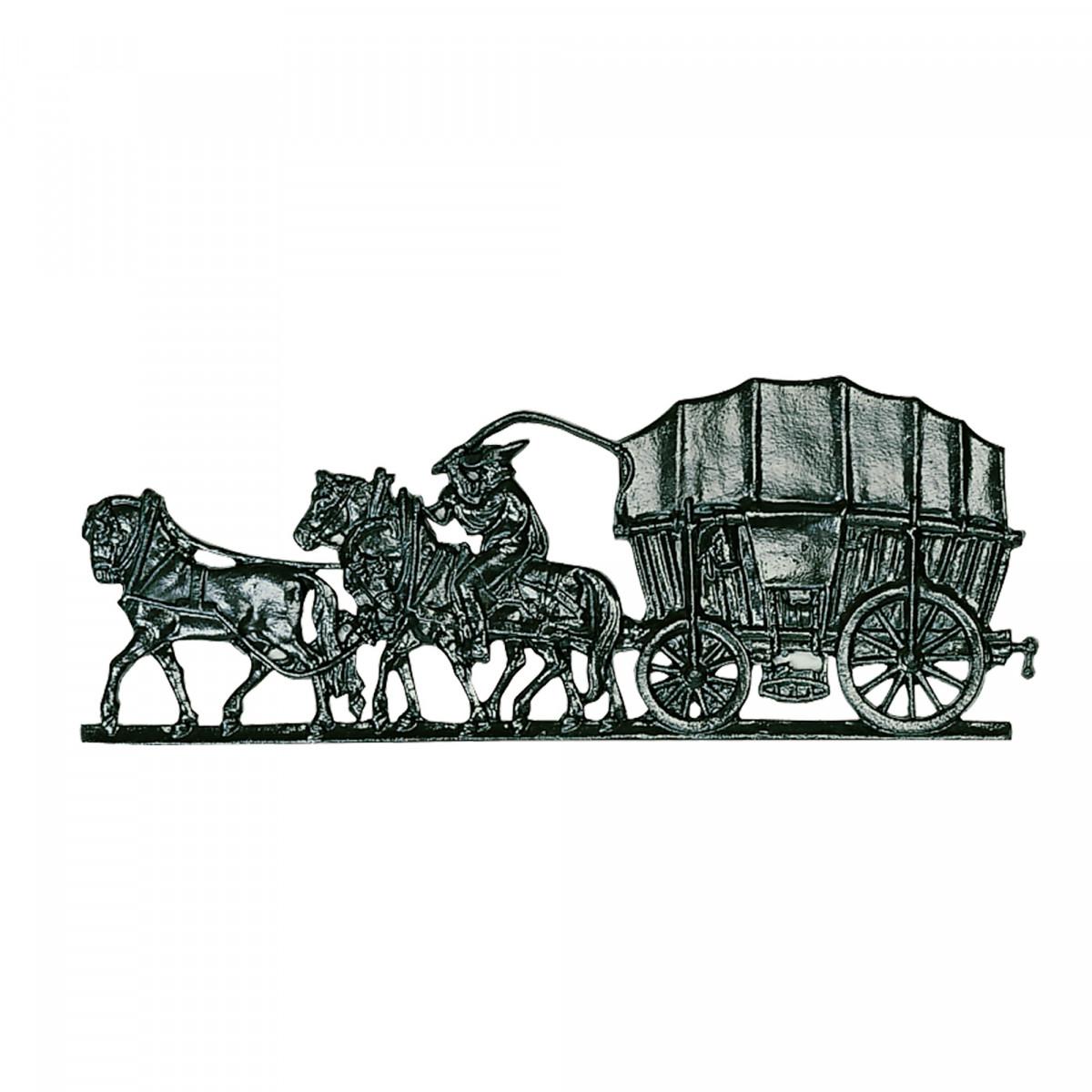Image of 0 52 Paard & koets ornament